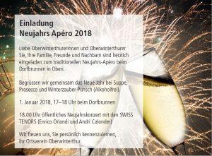 Neujahrs-apéro Ortsverein Oberwinterthur @ Ortskern | Winterthur | Zürich | Schweiz