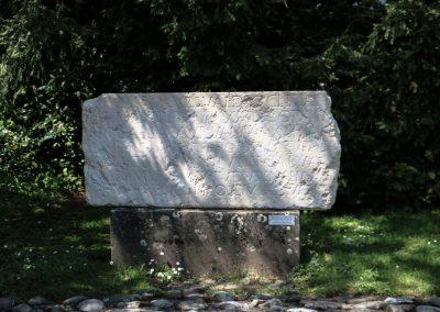 Römerstein in Oberwinterthur