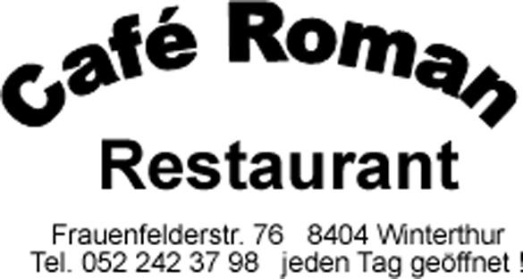 Cafe Roman Logo