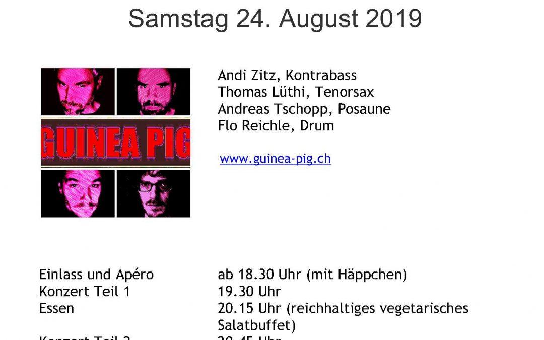 Jazzkonzert im mystischen Ambiente auf der Mörsburg