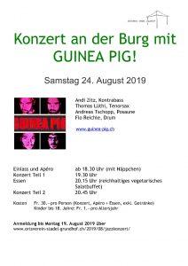 Jazzkonzert im mystischen Ambiente auf der Mörsburg @ Mörsburg